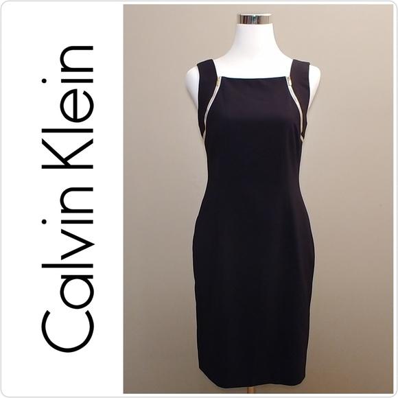 5b7cffa582a85 Calvin Klein Dresses   Skirts - Calvin Klein Black Sleeveless Dress